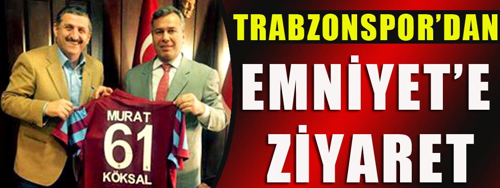 Trabzonspor Kulübü, Emniyet Müdürü'nü Ziyaret Etti.