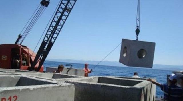 """Yapay Resif Projesi"" Hayata Geçti"