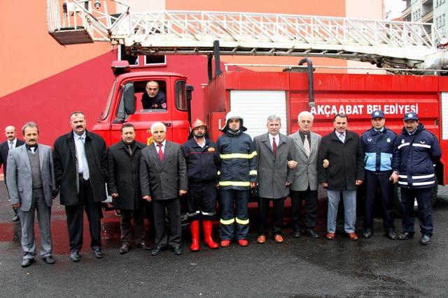 Sivil Savunma Gününde Yangın Tatbikatı