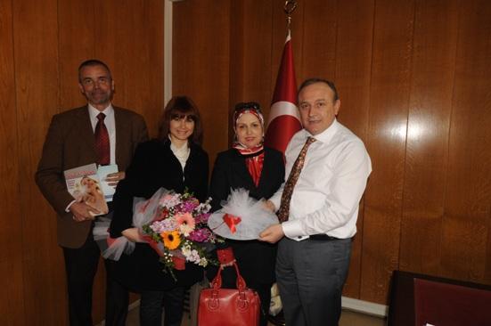 Vali Recep Kızılcık'a Ziyaret