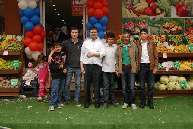 Helvacı Marketin 2.Şubesine  Muhteşem Açılış