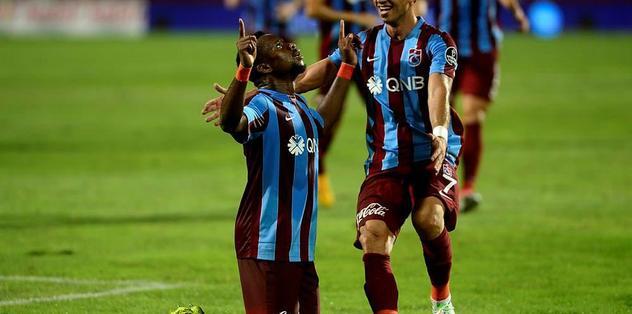 Trabzonspor - Kasımpaşa'yı, Ogenyi Onazi'nin Golleriyle 2-0 Mağlup Etti