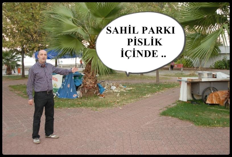 PARKI PİSLİK İÇERİSİNDE BIRAKTILAR