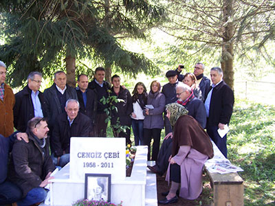 Cengiz Çebi Mezarı Başında Anıldı