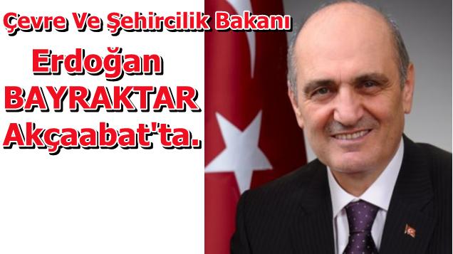Bakan Erdoğan BAYRAKTAR Ak Parti Akçaköy Belde Binasını Açacak.