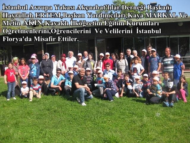 Kavaklı Eğitim Kurumlarından Tarihi Gezi.