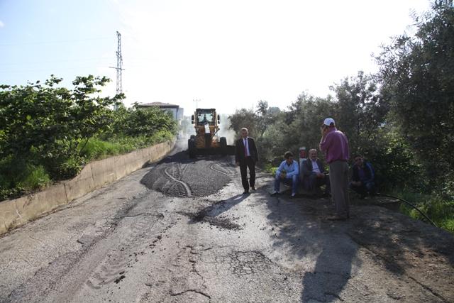 Ortamahalle Ve Karacam,Çamlıca Köyü Grup Yolu Asfaltlandı