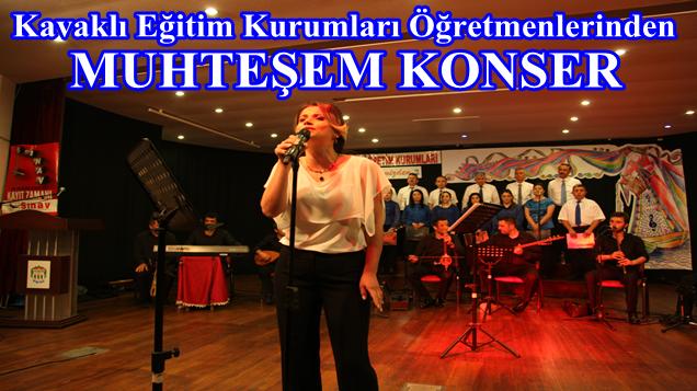 Kavaklı Eğitim Kurumları Öğretmen'lerinin 2.THM Konseri