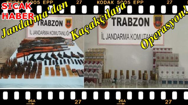 Bu Başarı Trabzon İl Jandarmanın