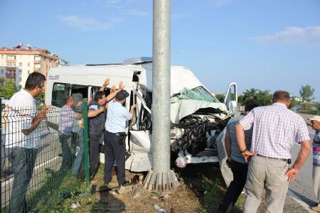 Trabzon Yolunda Trafik Kazası