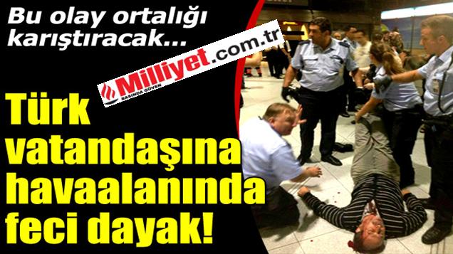 Trabzon'lu Aileye Alman Polisinden Dayak.
