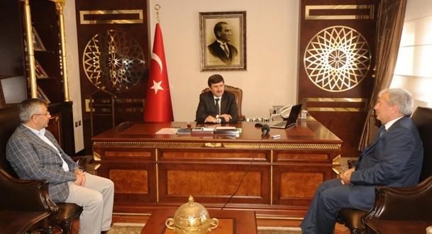 MÜSİAD Trabzon Şubesinden Vali Öz'e Ziyaret