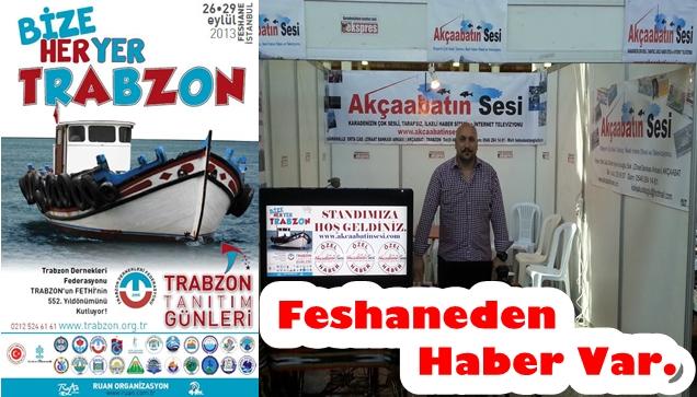 Feshanede Trabzon Tanıtım Günleri Bugün Başladı.