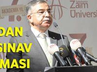 Milli Eğitim Bakanından Yazılı Sınav Açıklaması