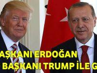 Cumhurbaşkanı Erdoğan Yarın ABD Başkanı Trump İle Görüşecek