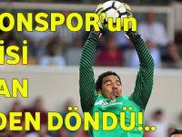 Trabzonspor'un Kalecisi Esteban Ölümden Döndü!.