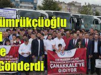 Başkan Gümrükçüoğlu 248 Genci Çanakkale Gezisine Gönderdi