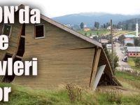 Trabzon'da 4 İlçede Yayla Evleri Yıkılıyor!