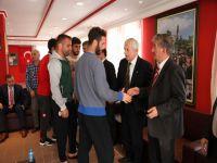Akçaabat Futbol Kulübü Tesislerinde Bayramlaşma Vardı