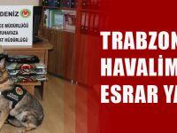 Trabzon Havalimanı'nda Çok Miktarda Esrar Ele Geçirildi