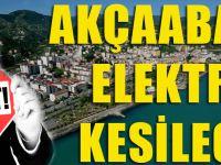 Trabzon Ve 6 İlçesinde Elektrik Kesilecek