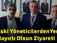 MHP Akçaabat Eski Yöneticileri Yeni Başkanı Ziyaret Ettiler.