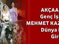 Akçaabatlı Genç İşadamı Mehmet Kazancıoğlu Dünya Evine Girdi