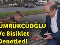 Başkan Gümrükçüoğlu Yürüyüş Ve Bisiklet Yollarını Denetledi