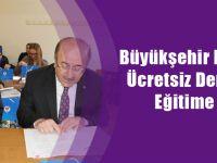 Büyükşehir Belediyesinin Ücretsiz Dershanesinde Eğitime Başlandı