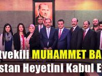 Dostluk Grubu Başkanı Balta, Pakistan Basın Heyetini TBMM'de Kabul Etti