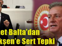 AK Parti Trabzon Milletvekili Muhammet Balta'dan Haluk Pekşen'e Sert Tepki!