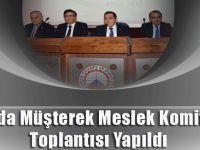 TTSO'da Müşterek Meslek Komiteleri Toplantısı Yapıldı