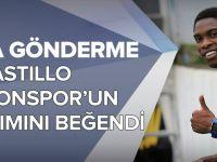 Castillo, Trabzonspor'un Ersun Yanal Paylaşımını Beğendi.