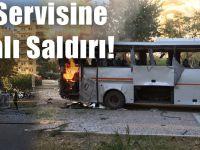 Polis Servisine Bombalı Saldırı!
