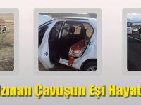 Trabzonlu Uzman Çavuşun Eşi Hayatını Kaybetti