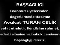 Trabzon Barosu Başsağlığı Mesajı Yayınladı