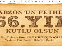 Başkan Gümrükçüoğlu'ndan Fetih Mesajı