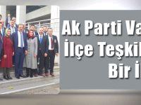 AK Parti Vakfıkebir İlçe Teşkilatından Bir İlk!