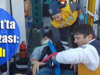 Akçaabat'ta Trafik Kazası:3 Yaralı
