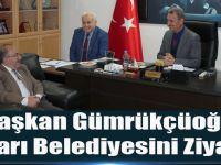 Başkan Gümrükçüoğlu Şalpazarı Belediyesini Ziyaret Etti