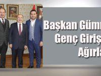 Başkan Gümrükçüoğlu, Genç Girişimcileri Ağırladı