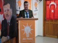 Temayül Yoklamasında, Akçaabat Ak Parti İlçe Teşkilatı Mehmet Baş Dedi.
