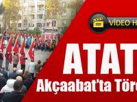 Atatürk, Akçaabat'ta Törenle Anıldı