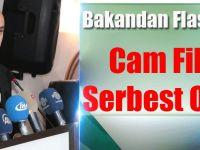 Serbest Olacak Cam Filmleri Belirlendi: Bakandan Flaş Açıklama...