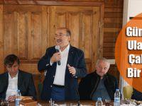 Gümrükçüoğlu, Ulaşım Dairesi Çalışanlarıyla Bir Araya Geldi