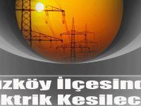 Düzköy İlçesinde Elektrik Kesilecek