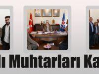 Başkan Gümrükçüoğlu Maçkalı Muhtarları Kabul Etti
