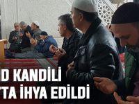 Akçaabat'ta Mevlid Kandili Dualarla İhya Edildi