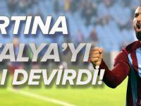 Trabzonspor, Antalyaspor'u Faklı Devirdi: 3 - 0