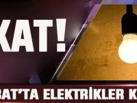 Akçaabat'ta Elektrik Kesintisi Yapılacak!